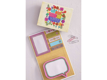 Natural Life What Makes You Happy Sticky Notes