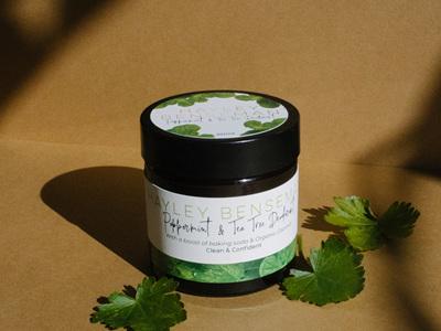 Natural Peppermint & Tea Tree Deodorant