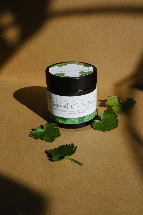 natural peppermint deodorant nz