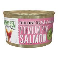 Natural Sea Pink Salmon Wild 213g