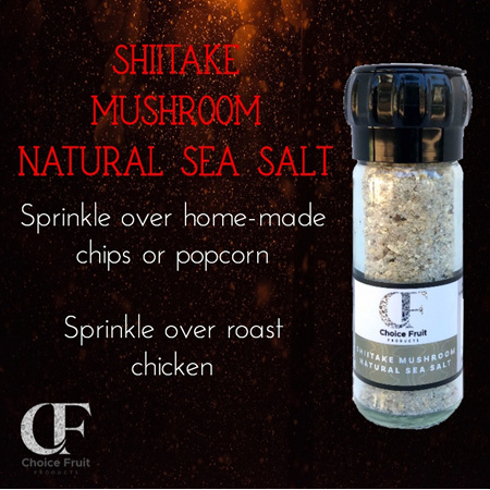 Natural Sea Salt - 90g Glass Grinder Asstd Flavours