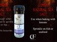 Natural Sea Salt - 90g Glass Grinder Asstd Flavours