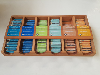 Natural Selection Lip Balm Box Set 120 Unit