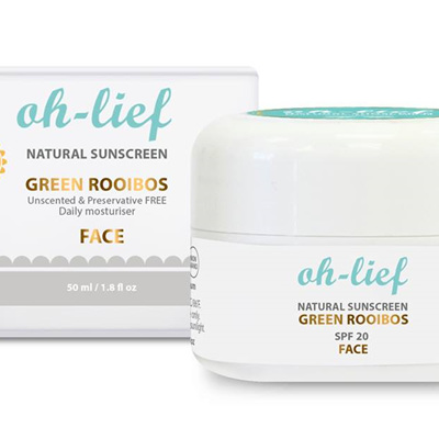 Natural Sunscreen SPF20 (face)