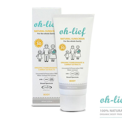 Natural Sunscreen SPF30 (Body)