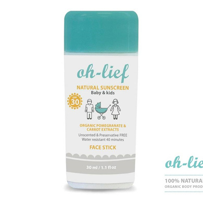 Natural Sunscreen SPF30 Kids Stick