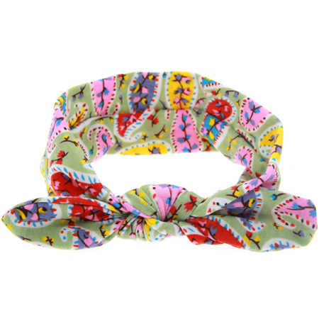Nature Knot Hairband - Green