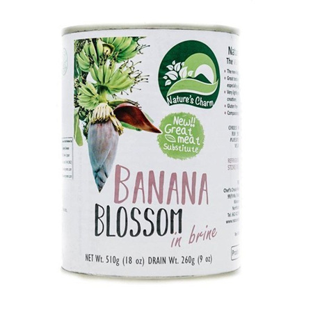 Nature's Charm Banana Blossom in Brine 510g