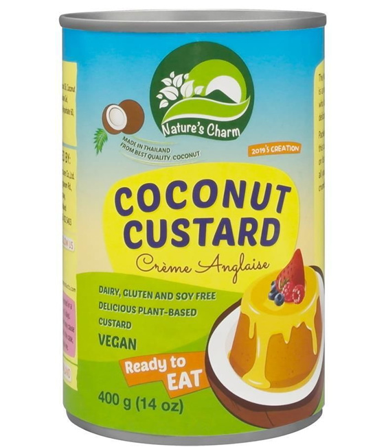 Nature's Charm Coconut Custard 400g