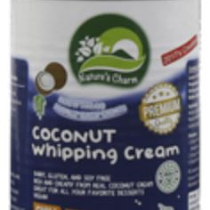 Nature's Charm Coconut Whipping Cream - 400ml