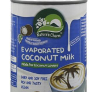 Nature's Charm Evaporated Coconut Milk - 360ml