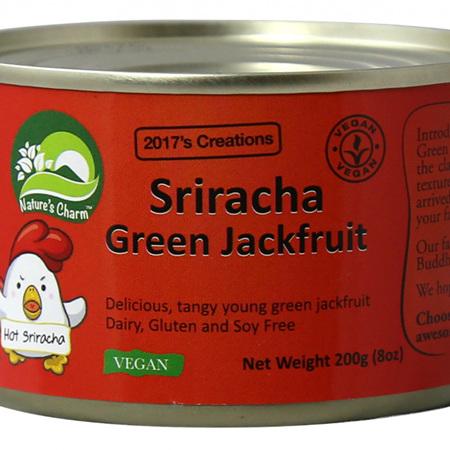 Nature's Charm Sriracha Jackfruit - 200g