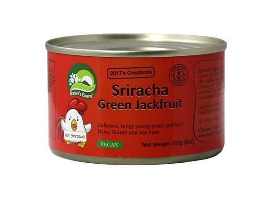 Natures Charm Sriracha Jackfruit 200g