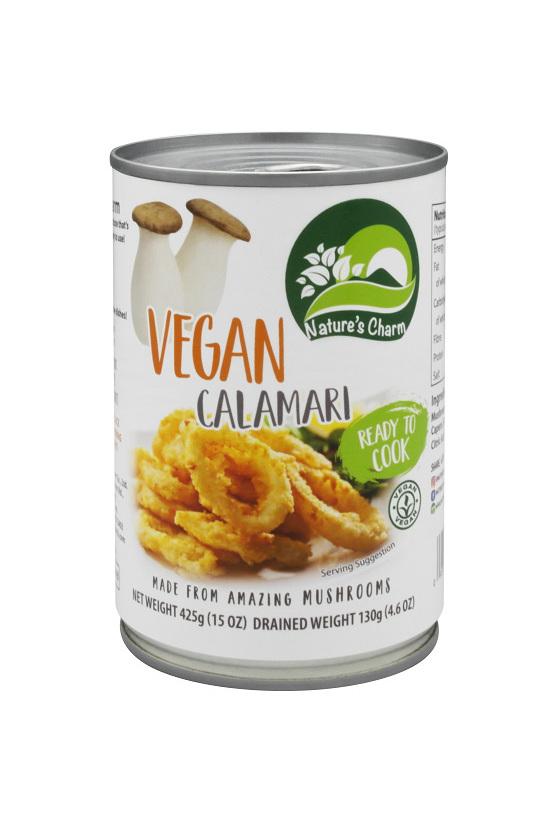 Nature's Charm Vegan Calamari 425gm