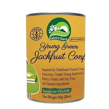 Nature's Charm Young Green Jackfruit Confit 510g