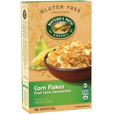 Nature's Path Corn Flakes Fruit Juice Sweetened 300g