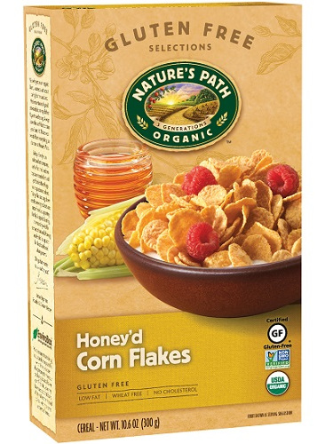 Nature's Path Corn Flakes Honey'd 300g