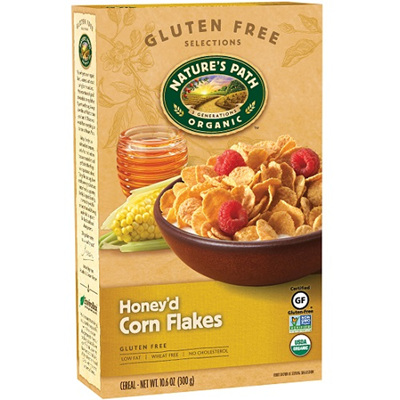Nature's Path Corn Flakes Honey'd 300g