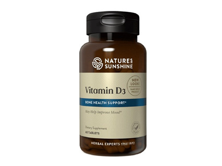 Nature's Sunshine Vitamin D3 60 Tablets