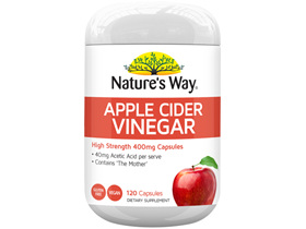 Nature's Way Apple Cider Vinegar 120