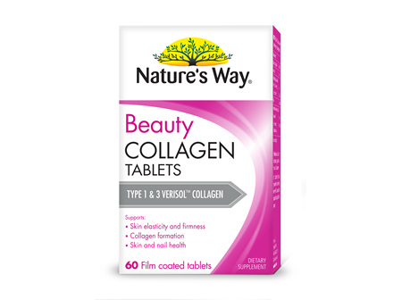 Nature's Way Beauty Collagen Tablets 60s BOX