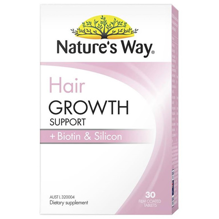 NATURE'S WAY HAIR GROWTH 30 TABLETS