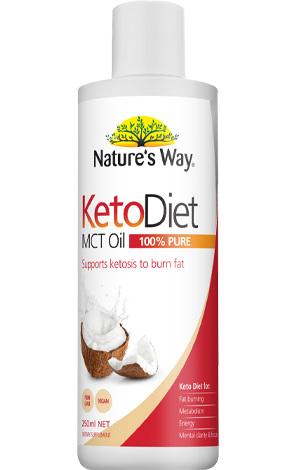 Nature's Way Keto Diet MCT Oil 250ml