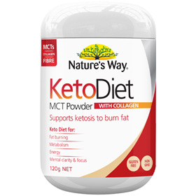 Nature's Way Keto Diet MCT Powder 120g