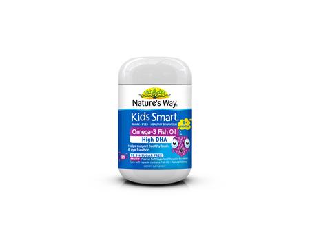 Nature's Way Kids Smart Fish Oil Burstlet 125s