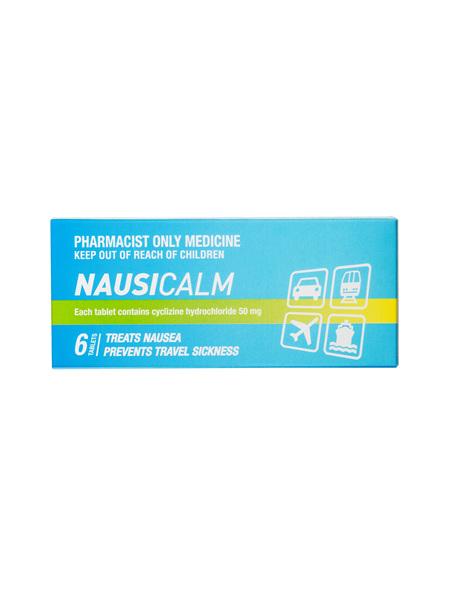 Nausicalm 6 tablets