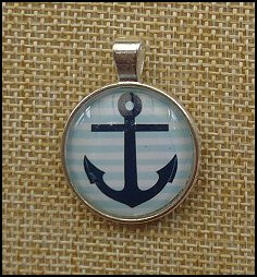 Nautical Glass Dome Necklaces