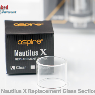 Nautilus X Replacement Glass Section