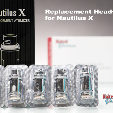 Nautilus X Replacement Heads - 5 Pack