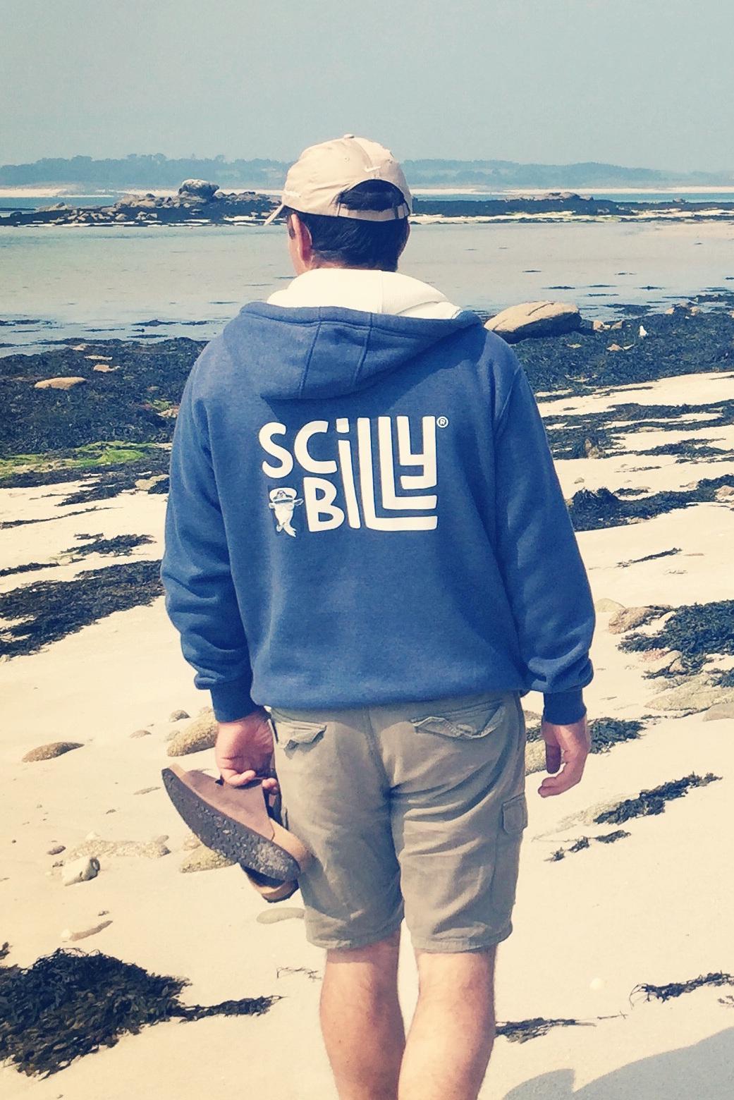 Vintage Navy hoodie