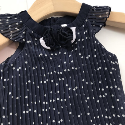 Navy baby dress and pants