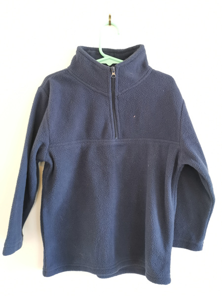 Navy Blue Fleece Jumper