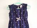 Navy Blue Star Dress