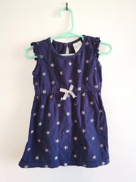 Navy Blue Star Dress