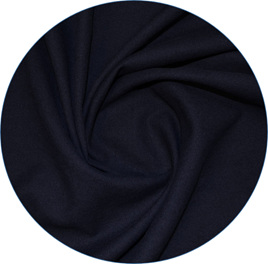 """Navy"", Pure Linen, 190 gsm"