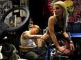 NB Tattoo LED Floor Lamp
