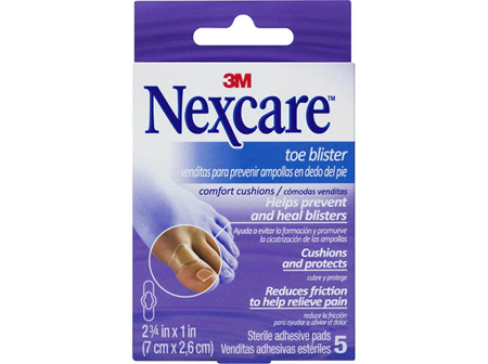 N/C Toe Blister Cush Pad 7x2.6cm 5