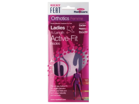 NEAT FEAT Ladies 3/4 Active Fit Med
