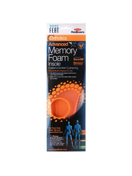 Neat Feat Orthotics Advanced Memory Foam Insoles Women