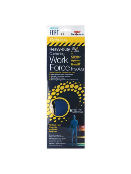 Neat Feat Orthotics Work Force Insole  Small