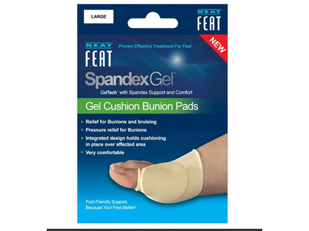NEAT FEAT Sp./Gel Bunion Pad Lrg