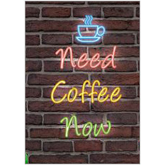 Need Coffee Fridge Magnet
