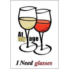 Need Glasses Fridge Magnet