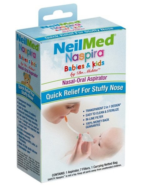 NEILMED Naspira Nasal Oral Aspirat.