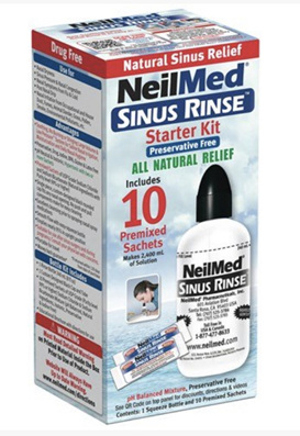 NEILMED Sinus Rinse Kit240ml 10Sach