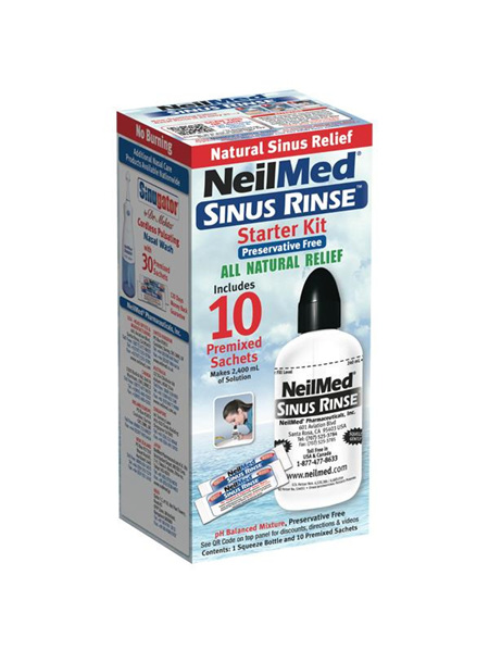Neilmed Sinus Rinse Starter Kit With 10 Packets